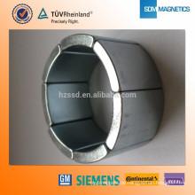 Hohe Leistung Bonded Neodym arc Magnet Permanentmagnet Motor Magnet