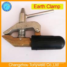 England stype brass earth clamp
