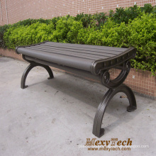 Outdoor Street Bench Park Bench, New Material Street Furniture 1500X560X410mm (112X)