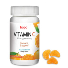 Pectin Chews Vitamin C Gummies For Kids No GMO
