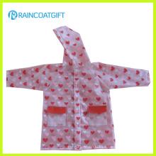 Girls Waterproof EVA Rainwear Rvc-076