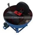 2-3TPH 1600mm dia Rock Copper Grinding Machine Double Wheels Wet Pan Mill