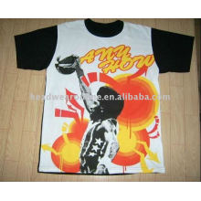 basketball t shirts with heat transfer
