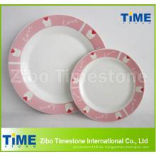 Keramische Porzellan Custom Printed Teller