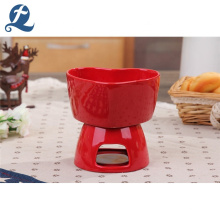 High Quality Custom Ceramic Heart Shaped Decorating Candle Holders