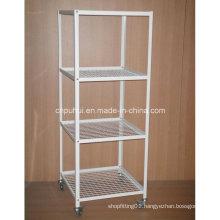 4 Tier Metal Floor Display Stand (PHY395)