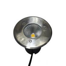 Luces LED para cubierta / cubierta Luces subterráneas impermeables de acero inoxidable