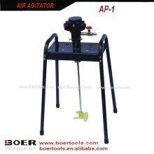 Batedor de ar do misturador da pintura de ar do agitador do ar da cama lisa