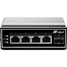 5-port full gigabit industrial switch