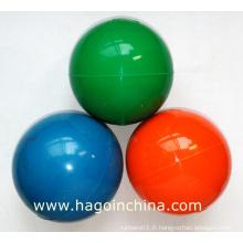 Balle en caoutchouc colorée personnalisée