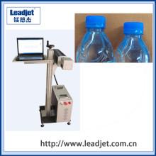 Máquina de la marca del laser del CO2 de Wuhan Leadjet para la botella plástica