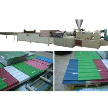 PVC/PC/PP/Pet Corrugated Sheet Extrusion Line
