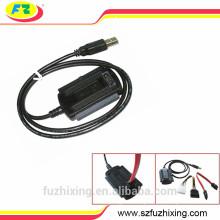 Adaptador de cable USB2.0 a SATA IDE HDD