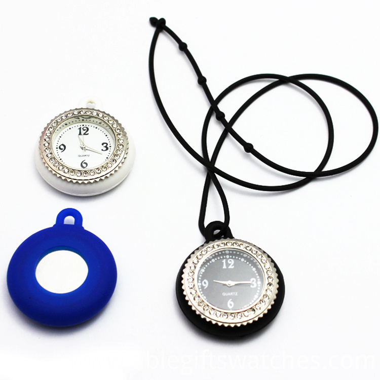 LUXURY DIAMOND POCKET WATCH