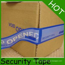Fita personalizada do selo da segurança / fita do vácuo