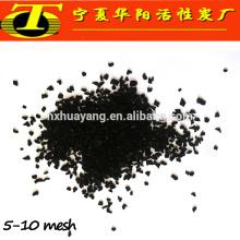 CHINA Huayang carvão ativado com palmeira de 8 * 30 mesh