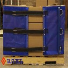 Enveloppe transparente de palette d'enveloppe de rétrécissement avec le prix d'emballage de prix bas