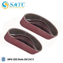 Cinto de areia flexível e de alta qualidade para usinagem de ferragens