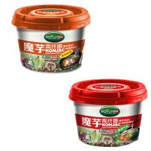 Shirataki Instant Cup Noodle com Baixa Calorias Bom para a Saúde