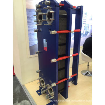 Hisaka Rx10A Flat Plate Heat Exchanger with Stainless Steel 304/316L