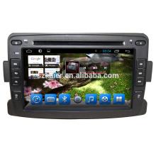 OEM de fábrica 7 '' 2 din Car DVD Player Audio Radio para Renault Logan / Sandero / Duster 2014 2015 2016 con USB SD Mapa GPS Navi OEM