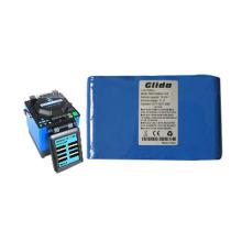 Bateria de lítio para solda de fusão de fibra ótica