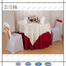 Restaurant de haute qualité Décoration usée Tissus de lin personnalisés à vendre