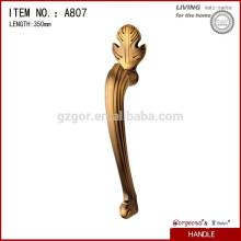 Роскошная ручка из сплава для деревянной двери