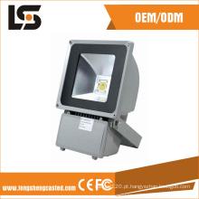 Alojamento de alumínio do projector do diodo emissor de luz do dissipador de calor da elevada precisão