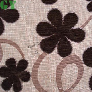 Canapé / rideau / tissu de rembourrage en jacquard de chenille (G44-222)