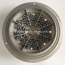 Die casting aluminum heat sink for medical equipments