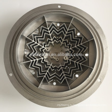 Лампа детали CNC обработки алюминия алюминиевого литья теплоотвода