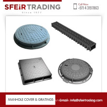 Customized Cast Iron Die Casting Manhole Cover EN124