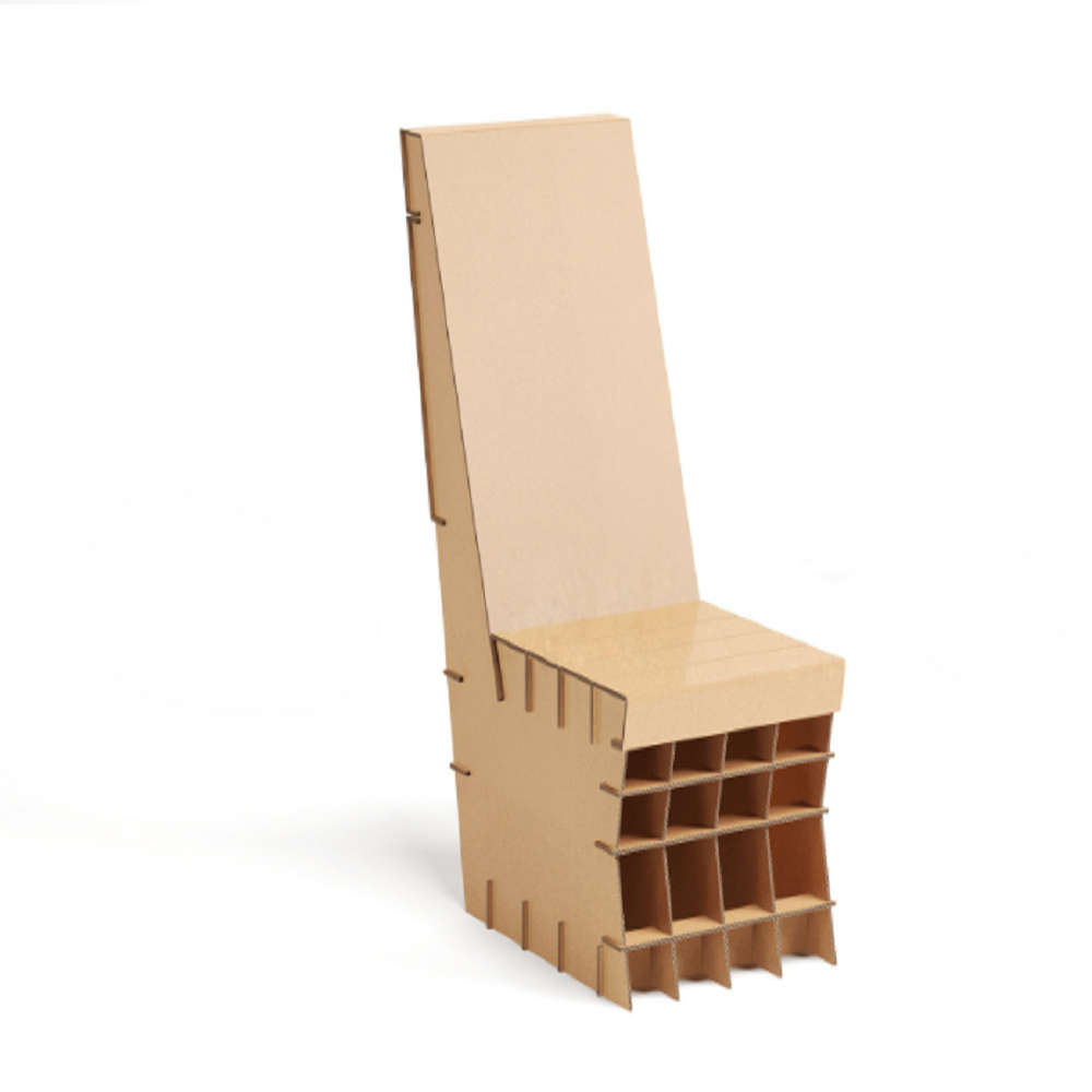Corrugated Desk And Chair Set