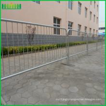 retractable belt portable steel crowd control barrier