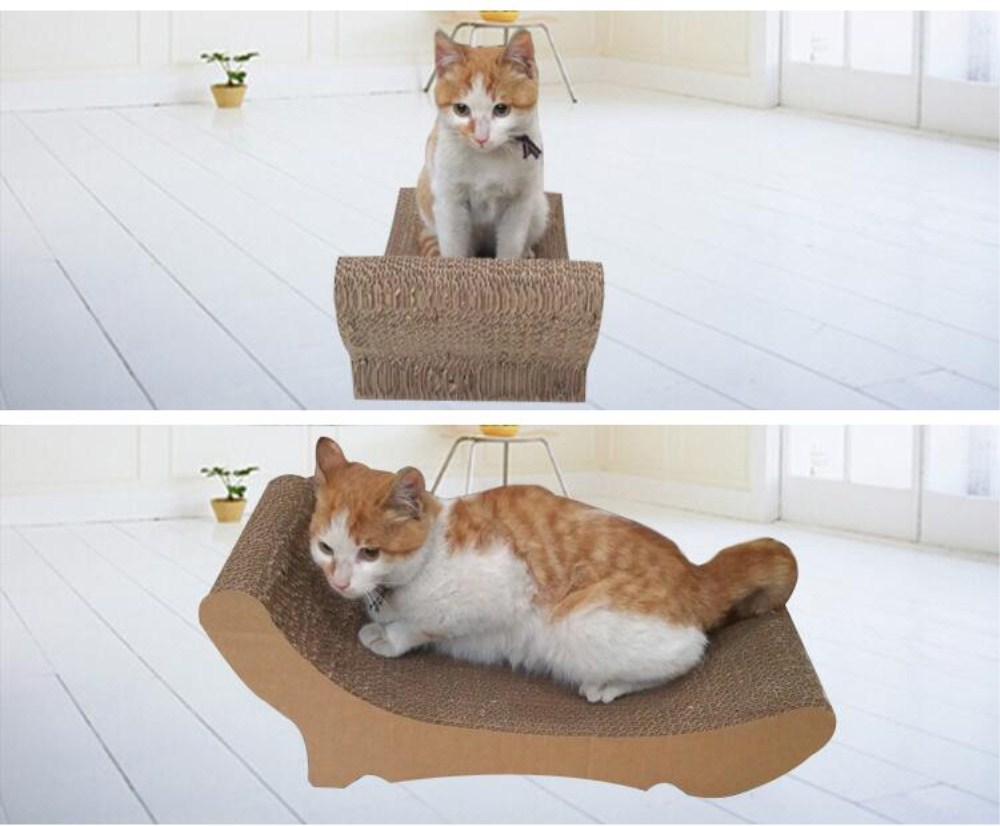 Corrugated Cardboard Cat Scratchers