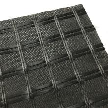 Tissu géotextile cousu avec géogrille en fibre de verre