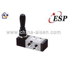 Válvula de solenoide manual de aluminio serie ESP TSV