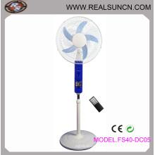 Ventilateur DC solaire de 16 pouces avec télécommande