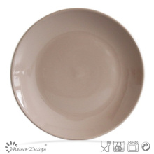 10.5 Inch Round Shape Stoneware Dig Plate