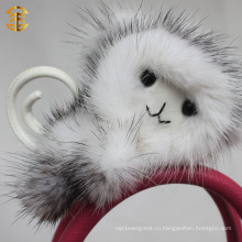 Завод прямой поставки брелок обезьяна животных мех брелок