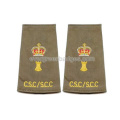 Crown Epaulet Accessories for Army
