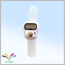 Anillo de regalo promocional Fasional dedo de la muselina mano blanca contador de cuenta digital