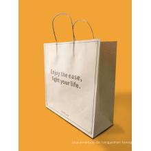 Benutzerdefinierte Kraftpapier Tasche / Papier Einkaufstasche / Geschenk Papiertüte