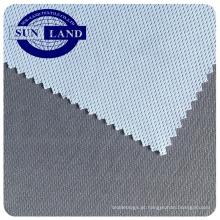 Fábrica chinesa de bambu de carbono poliéster antibacteriano ajuste seco tricô birdeye malha para sportswear