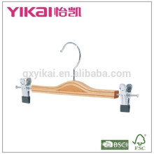 Atacado saia / camisa cinto de madeira laminado com barra redonda e tubo de PVC