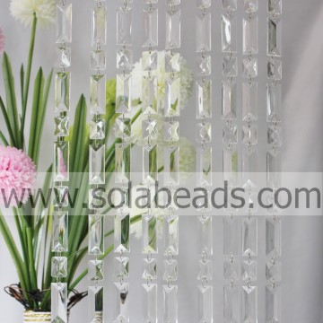 Patroon 25MM & 50 MM Crystal Beaded Strand Garland