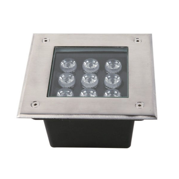 Remote control Recessed 9W LED Inground Light