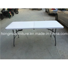6FT Folding Plastic Table for Outdoor Use