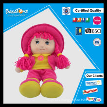 Moda niña juguete 14inch fruta hermosa muñeca